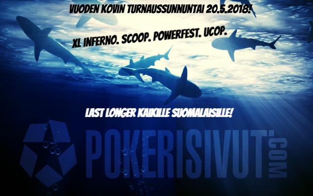 Naapurisivusto Pokerisivuilta kovia palkintoja Sunnuntain turnaussarjojen päätur