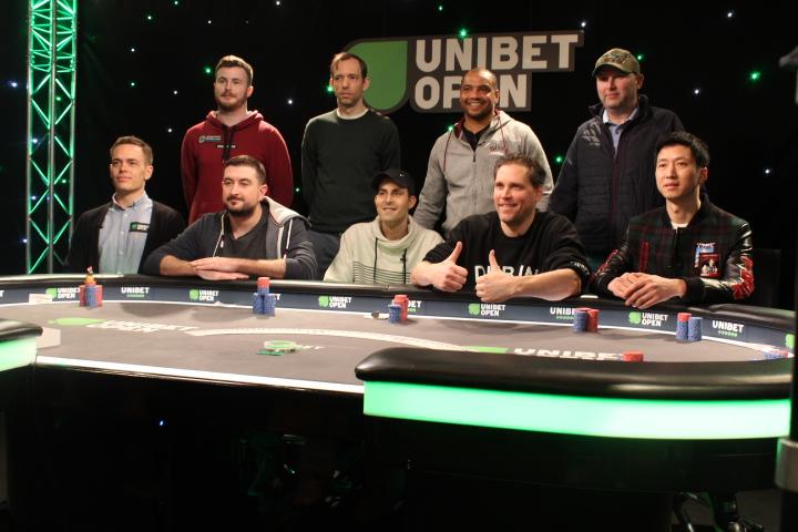 Finalistit Unibet Open Dublin